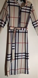 Women NEW V-Neck Business Dress